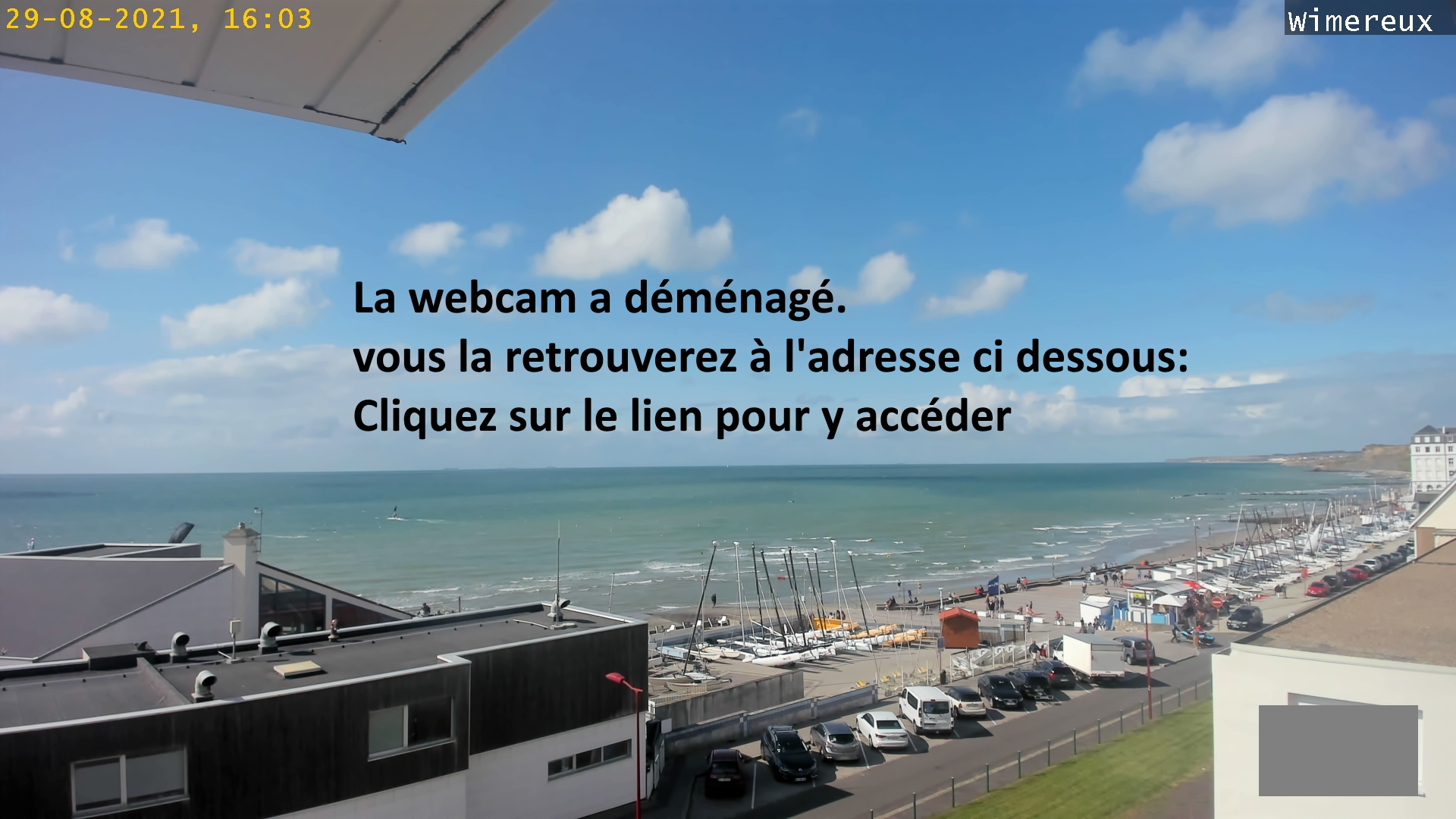 webcam de wimereux